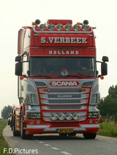 Train Truck, Road Train, Transport Pictures, Scania V8, Transport Companies, Rigs, Holland, Transportation, Trucks