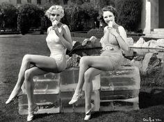 Marie Wilson and Anne Nagel :: probably 1930′s