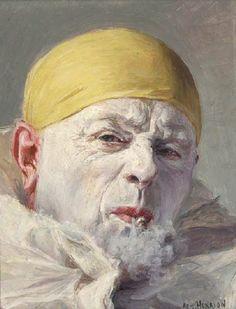 Figure and Portrait Painter Armand (François Joseph) Henrion (Belgium-French: 1875-1958)