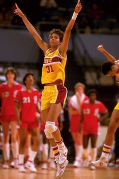 Cheryl Miller - one of the best women's basketball player of all time.