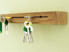 Schlüsselhalter aus Eichenholz