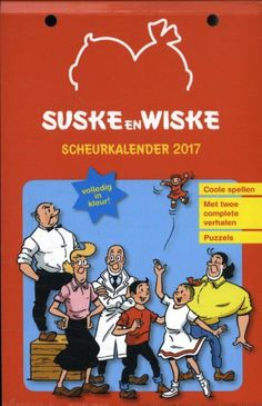 Suske & Wiske scheurkalender 2017