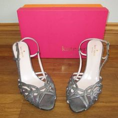 NEW Kate Spade Shari Strappy Sandals Size 10.5 NEW Kate Spade Shari Strappy Sandals Size 10.5 slight mark on bottom of one shoe shown in photos. Will sell with box if desired. Brand new never been worn kate spade Shoes Sandals
