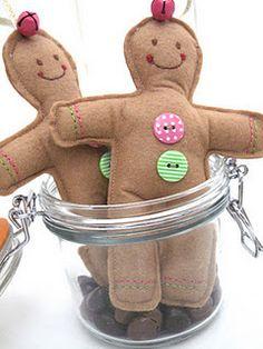 cute gingerbread men