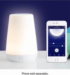 Hatch Baby - Rest Smart Night Light and Sound Machine with OK-to-Wake - White - AlternateView12 Zoom