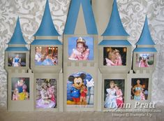 Disney Castle Frame   	Here is my Disney Castle Frame! You can see all the details on my blog:    stampndesign.blog...      Read more: www.splitcoaststa...