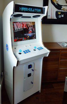 white arcade cabinet - Google Search