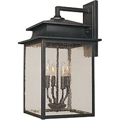 World Imports Sutton Collection 4-light Outdoor Wall Sconce - Overstock™ Shopping - Top Rated World Imports Sconces & Vanities