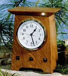 Arts and Crafts Clock Movements