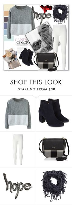 """""""Winter chill!!!"""" by mahima-dahiya ❤ liked on Polyvore featuring Monsoon, Rick Owens Lilies, Kate Spade and NOVICA"""