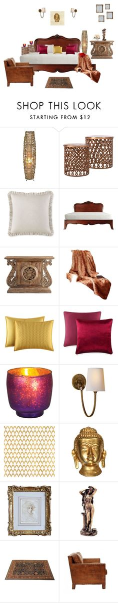 """""""Untitled #2"""" by vaishnavilal on Polyvore featuring interior, interiors, interior design, home, home decor, interior decorating, Waterford, Cyan Design, J. Queen New York and Cultural Intrigue"""