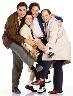 Seinfeld. My favorite sitcom of all time (besides Arrested Development)