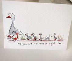#funnycards #handmade #greetingcards #funnycardsandstuff #humor #instashop #instaartist #pun #humorous #crafts #ducklings #momandme #instaduck #art #painting #sunilkalbandi #instacards #handdrawn #sketchoftheday #sketch #cardstock #followtrain