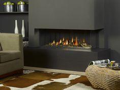 Trimline 120 Corner Balanced Flue Gas Fireplace                                                                                                                                                     More