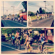 Portland bicycle culture.