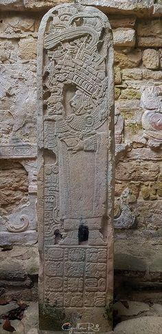 Estela de Ixic Ik Hol Chiapas