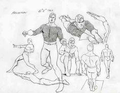 Aquaman Model Sheet by Alex Ross