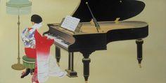 Daizaburo Nakamura - Lady at Piano