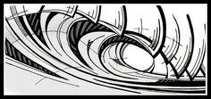"Wave from the film ""Fighting Fear"". Surf Websites, Indiana, Surf Logo, Surfer Magazine, Skate Art, Surf Art, Medium Art, Love Art, Shirt Ideas"