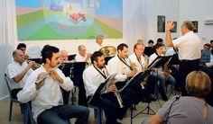 Festejo por los 114 años de la #Biblioteca Menéndez de #Pergamino, con la actuación de la banda municipal. Felicidades!
