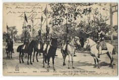 Mounted guards in Huế, Nguyen dynasty