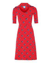 Tante Betsy - Dress Stitch red 1 jurkje in maat M