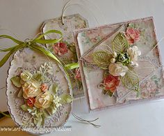 Dorota_mk: Relacja z niezwykłych warsztatów w Mikołowie Mixed Media Cards, Shabby Chic Cards, Paper Cards, Flower Cards, Vintage Cards, Easter Crafts, Wedding Cards, Holiday Cards, Cardmaking