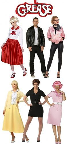 Grease costumes - Rizzo, Sandy, Kenickie