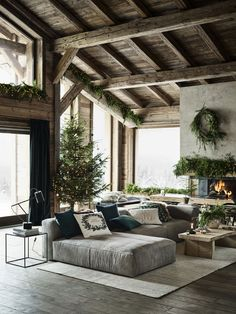 Home Interior Design .Home Interior Design Style At Home, Hm Home, Home Interior Design, Interior And Exterior, Interior Design Farmhouse, Contemporary Interior, Room Interior, Interior Ideas, Chalet Interior