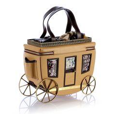 Stage Coach Handbag by Braccialini