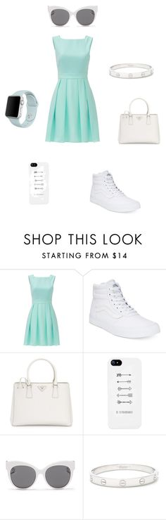""".."" by jmaq22 ❤ liked on Polyvore featuring Kate Spade, Vans, Prada, Blanc & Eclare and Cartier"