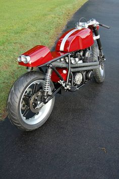 Garage Project Motorcycles - Honda CB750 Cafe Racer with an amazing amount of...