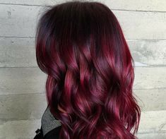 Want to change your #haircolor to funky #red, bright pink or any other #color of your choice? You can have affordable hair color service at Salon Volume.