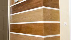 Colocar revestimiento decorativo en pared