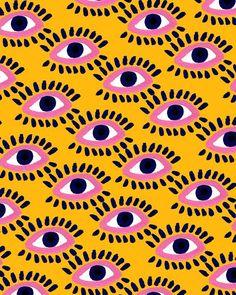 bouffantsandbrokenhearts:  Colorful Eyes IV.