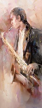 Saxofonist (WH306)