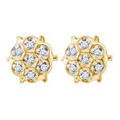 1/20CT-Diamond FASHION EARRINGS
