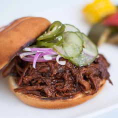 Pulled BBQ takes on a whole new meaning when it's farm fresh.