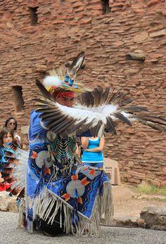 Navajo Eagle Dancer at the Grand Canyon