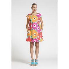 Unikko may have just turned fifty this year, but this summery frock shows it's still as fresh as ever. Marimekko Uuva Turquoise/Multi Dress - $185.00
