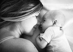 Mom and Baby Picture Idea