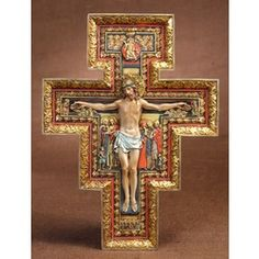 San Damiano Cross: the famous crucifix before which St. Francis Assisi received his commission from Christ. One of our favorites. $59.95