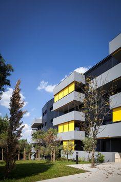 'Viravent' housing by Martin Duplantier Architectes, photos: Yohan Zerdoun
