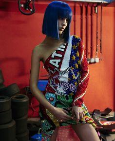Moschino x Sita Abellan for ODDA Magazine