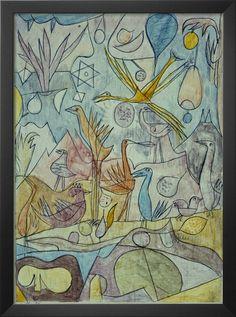 Flock of Birds - Paul Klee, 1917 Paul Klee and his birds.