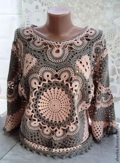 Delicadezas en crochet Gabriela: Blusas