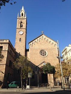 Basílica de la Purísima Concepción a la que perteneció el colegio San José de 1906 a 1908 (calle Girona nº 64 1º)