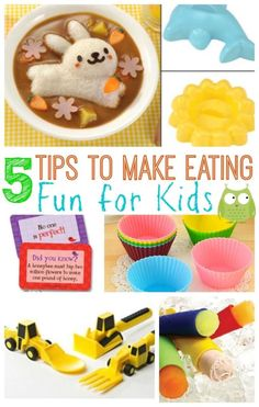 5 tips to make eating fun for kids