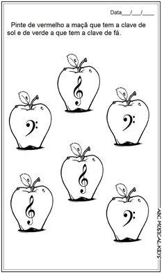 Caderno de Atividade de musicalização - ABC MUSICAL KID'S Music Class, Music Education, Piano Teaching, Music For Kids, Piano Music, Office Gifts, Music Stuff, Musicals, Fictional Characters