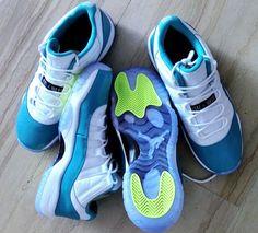 """Air Jordan 11 Low """"Aqua"""" -  Release Date http://www.equniu.com/2014/02/24/air-jordan-11-low-aqua-release-date/"""